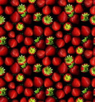 Tileable strawberries by phoenix1981