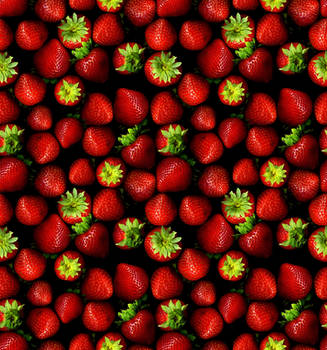 Strawberries as wallpaper by phoenix1981