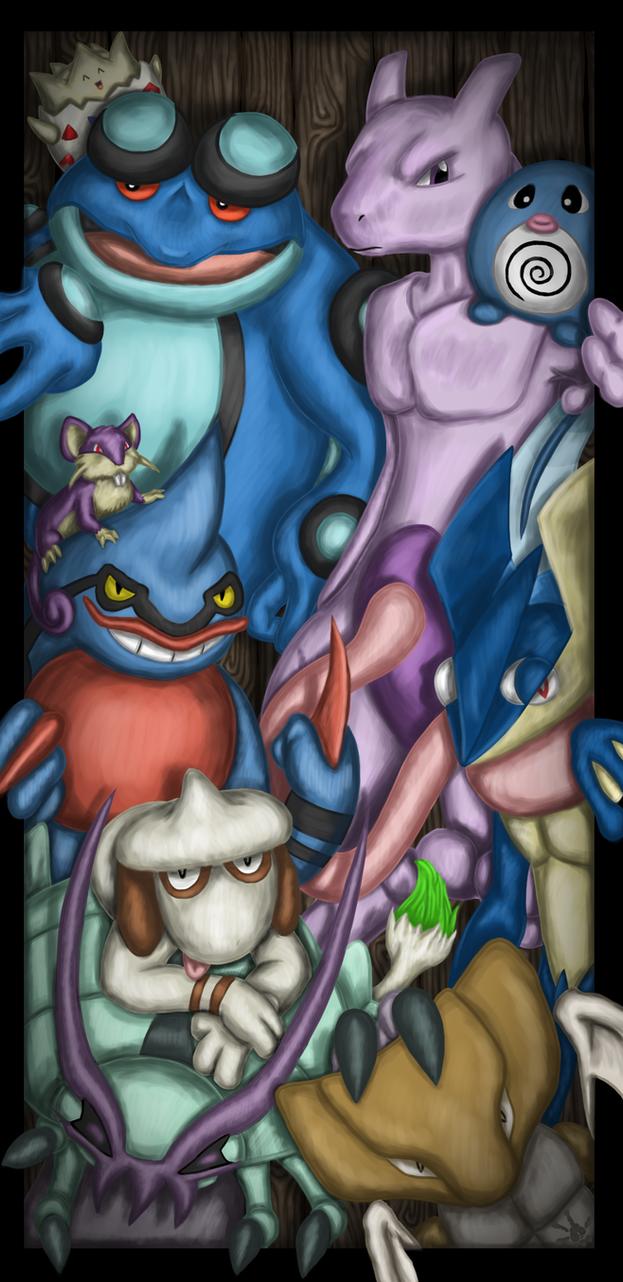 Some Favorite Pokemon S8 Wallpaper by Haymurus