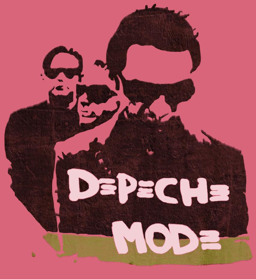 Rochelle Depeche Mode Tee by NappyKit