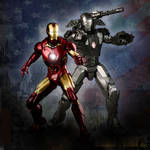 Iron Man and War Machine