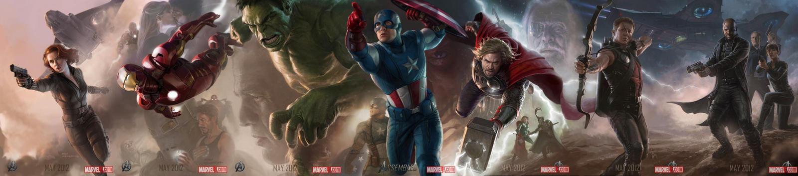 Avengers by zeebow14