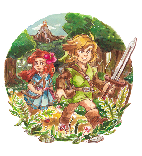 Link, can you take me home? by kichisu
