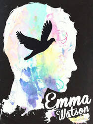 Emma Watson by By-Queen