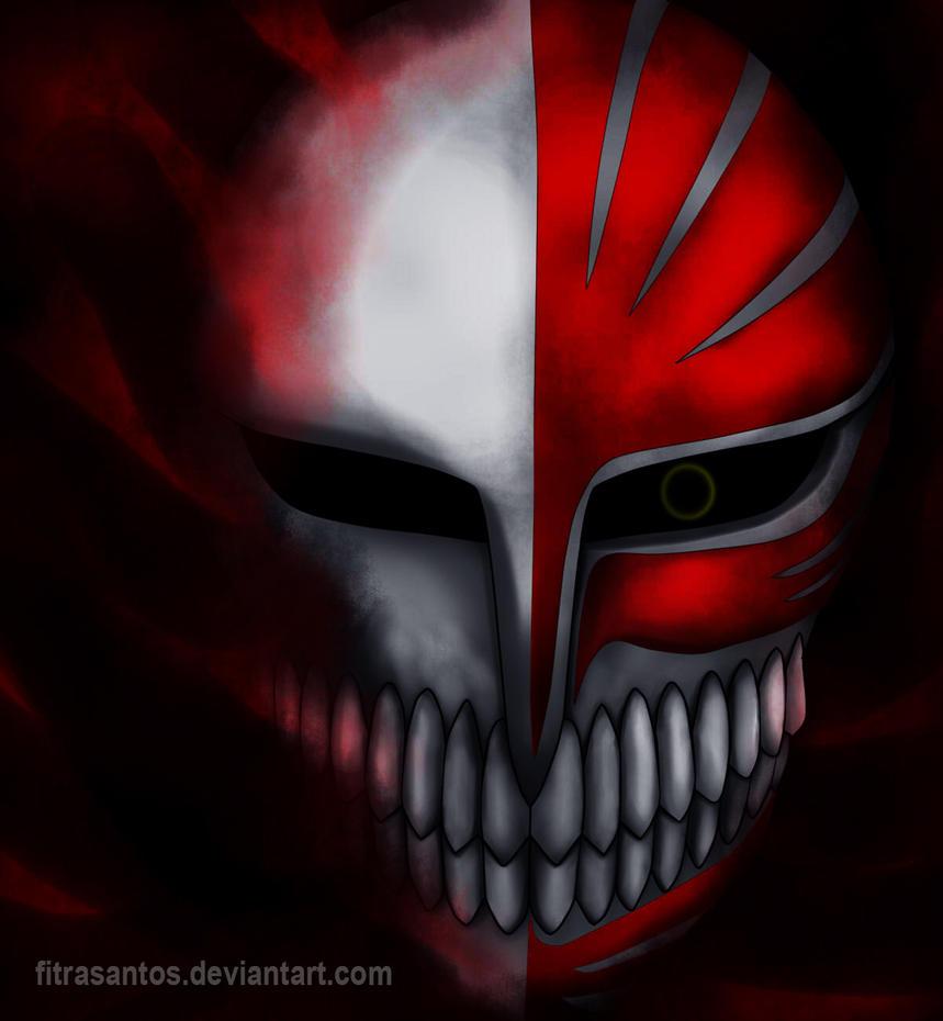 how to draw ichigo hollow mask