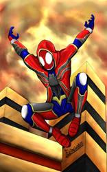 Spider-Man Hoodie Suit (Fanart) by FitraSantos