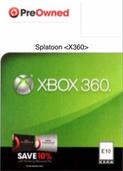 Splatoon (2006) Xbox 360 Pre-Owned