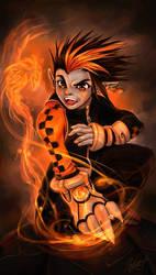 Evil spell............. by Master-Sheron