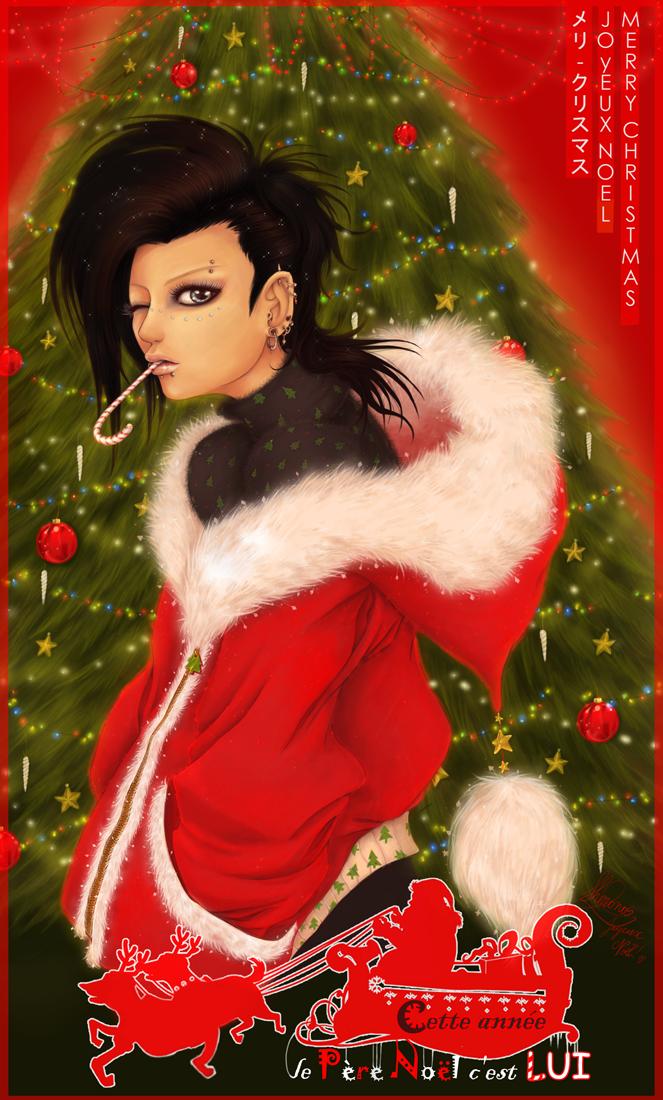 This year's Santa: that's HIM by Master-Sheron