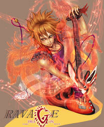 Ravage - Dragon Fury Rock - by Master-Sheron