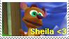 Sheila stamp by Carolzilla
