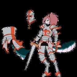 Gretchen in Armor by Carolzilla