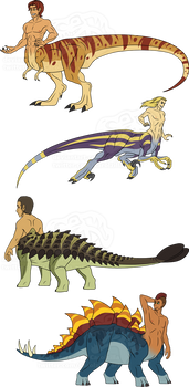 Adoptable - Dinotaurs - CLOSED