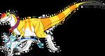Nini and Nil Dino Form - Commission