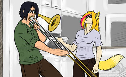 When Amber isn't home by Carolzilla