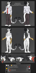 Norok Ref Sheet - Commission by Carolzilla