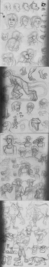 Paper Sketchdump 1