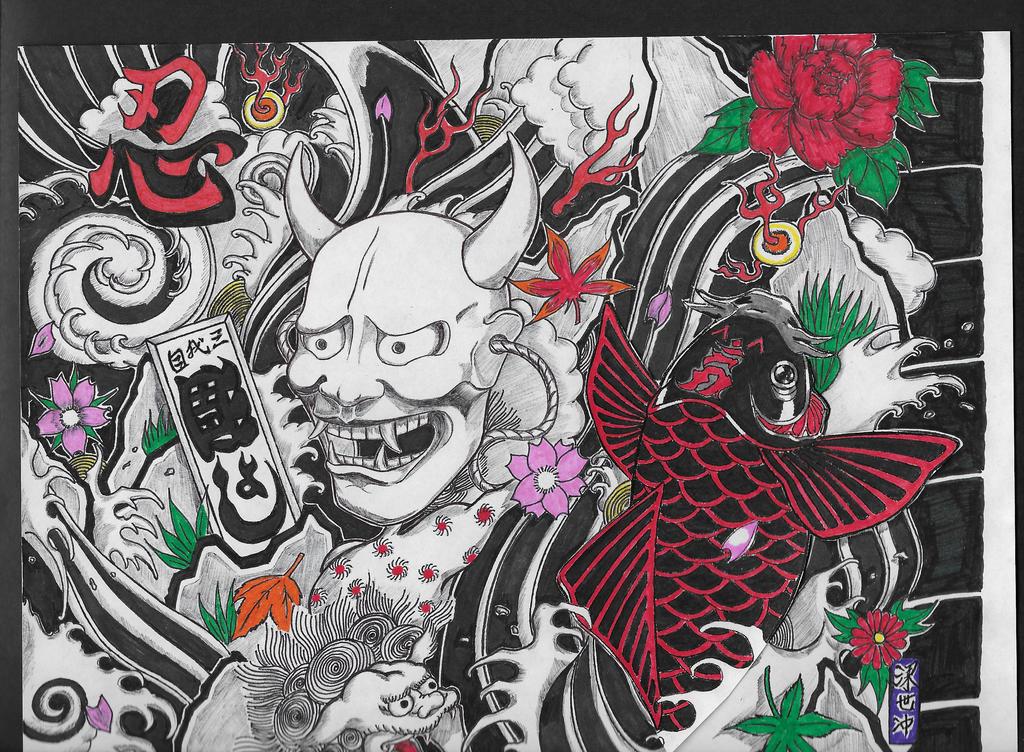 ta moko and ierzumi the art