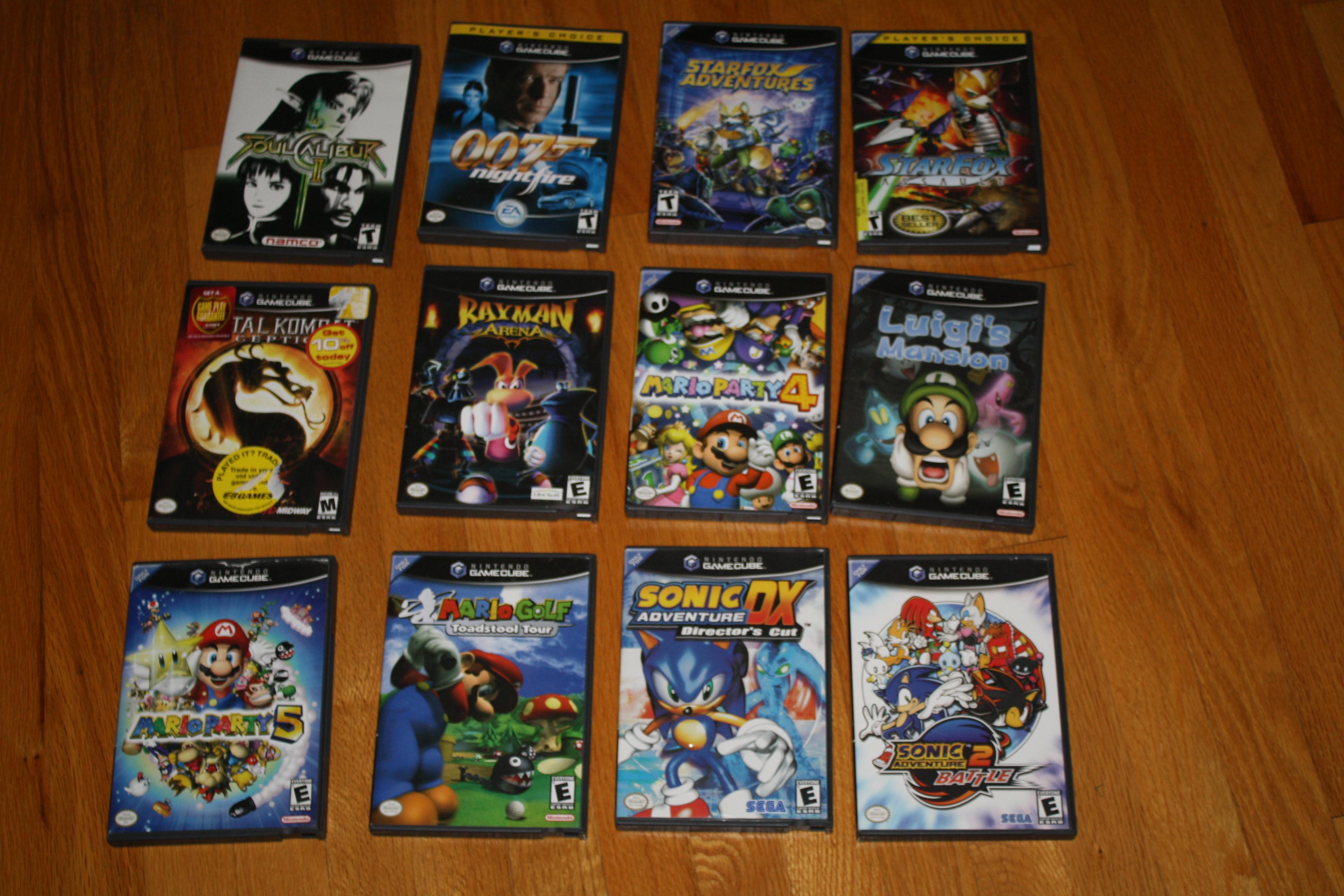 My Gamecube Games Part 1 By Foxfalcofan On Deviantart