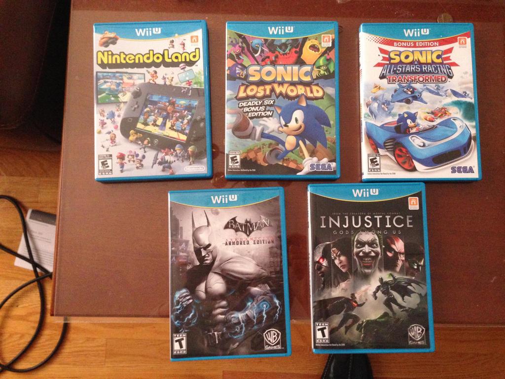 Wii U Games 2013 : My wii u games by foxfalcofan on deviantart