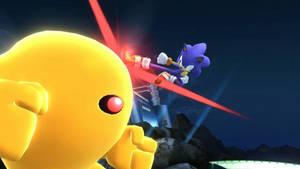 Sonic vs the Yellow Devil