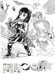 Maki cosplaying Melie (Radiant)