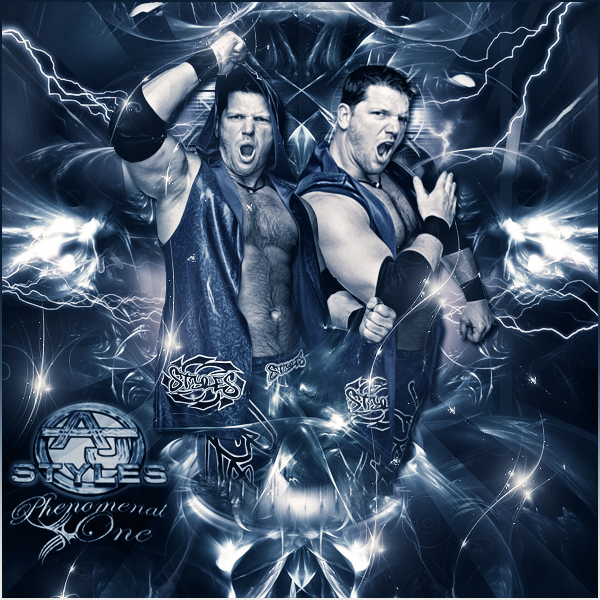 AJ Styles Phenomenal One By XxJer3mxX On DeviantArt