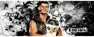 Intercontinental Champion Cody Rhodes