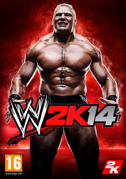 WWE2K14 Cover