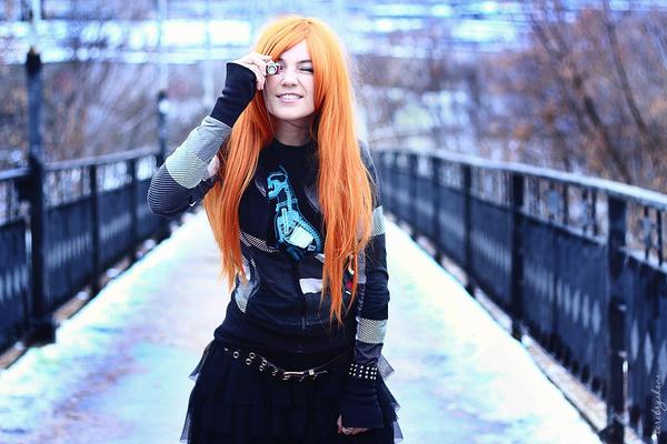 Photoshoot - Ginger winter 6 by Tanuki-Tinka-Asai