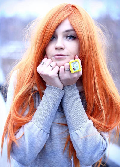 photoshoot ginger winter 11 by tanukitinkaasai on