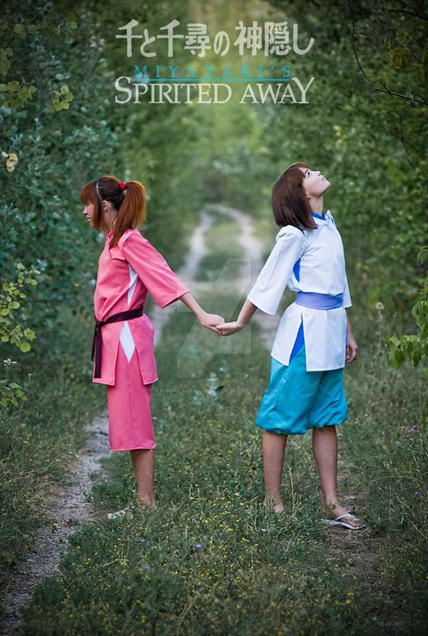 Spirited Away by Tanuki-Tinka-Asai
