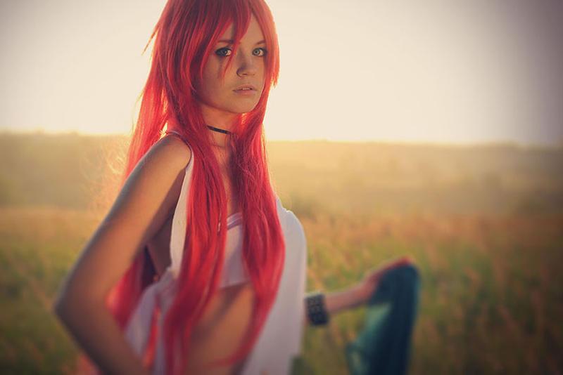 Photoshoot - Red summer 12 by Tanuki-Tinka-Asai