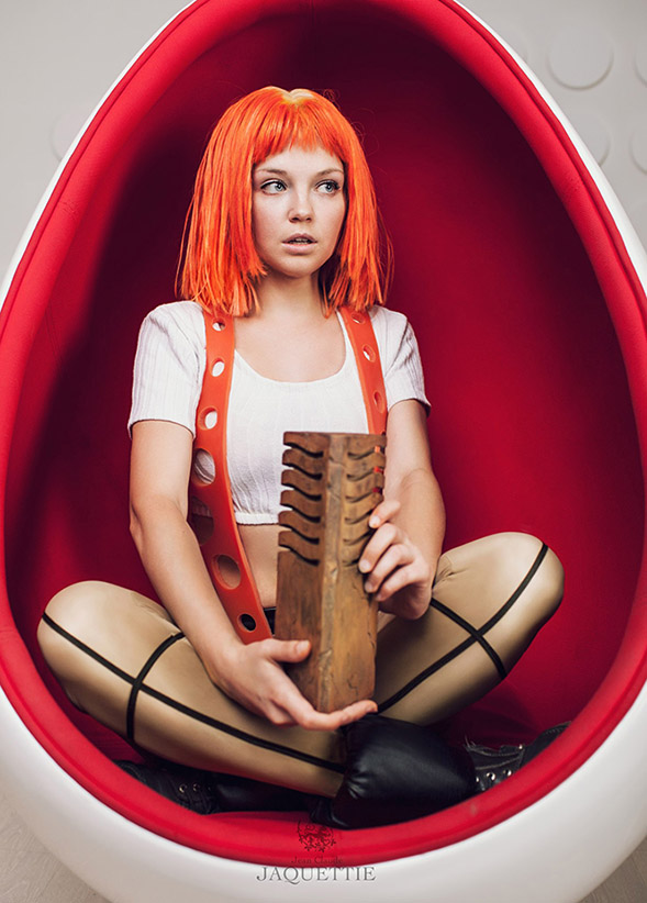 Leeloo Dallas Multipass 2013 by Tanuki-Tinka-Asai