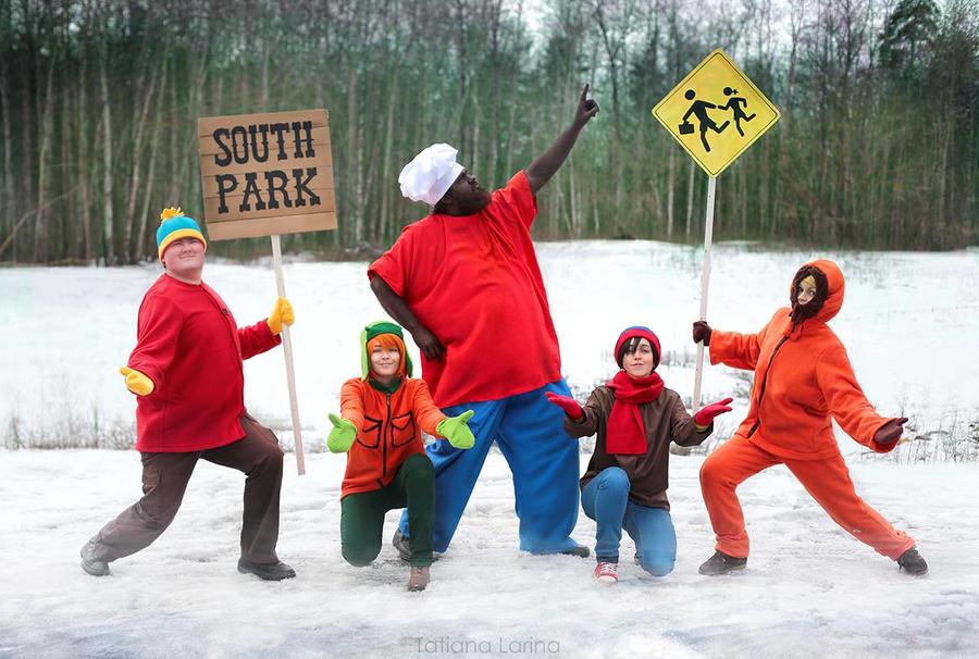 South Park!!!2014 - parody of Haruhi Suzumiya ^__^ by Tanuki-Tinka-Asai