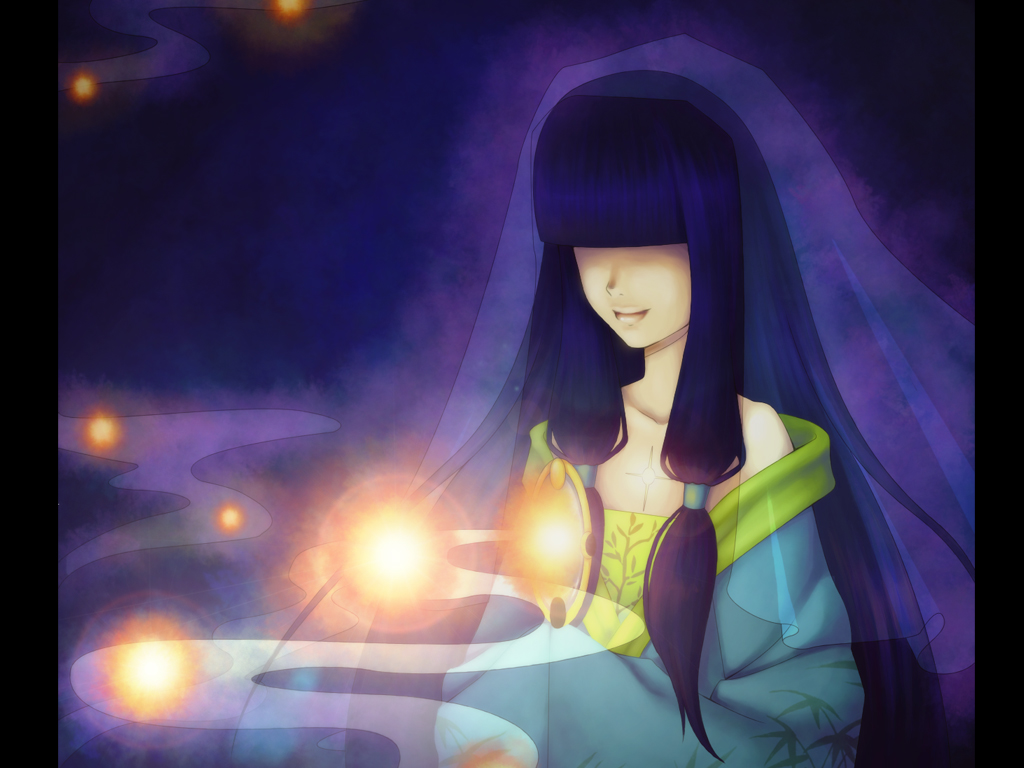 Light the night sky by Tea-desu
