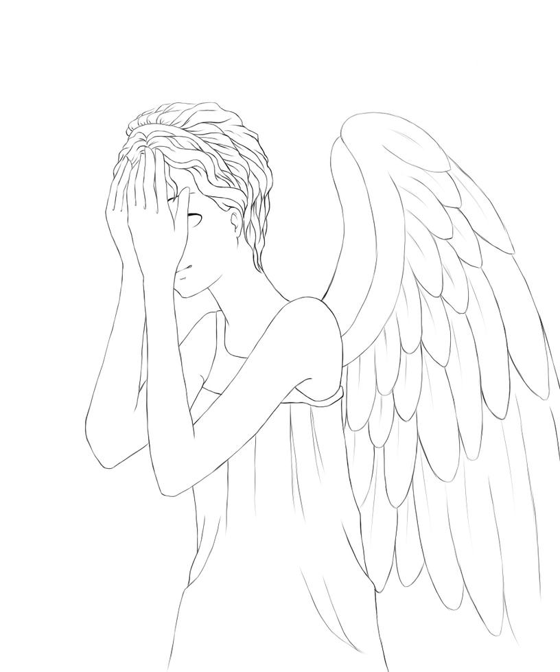 Line Drawing Of A Doctor : How to draw weeping