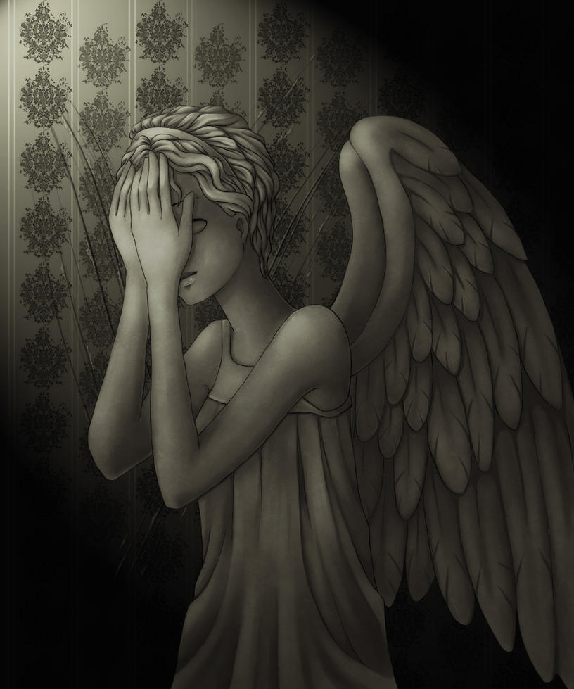 Fanart +Weeping angel+ by Tea-desu