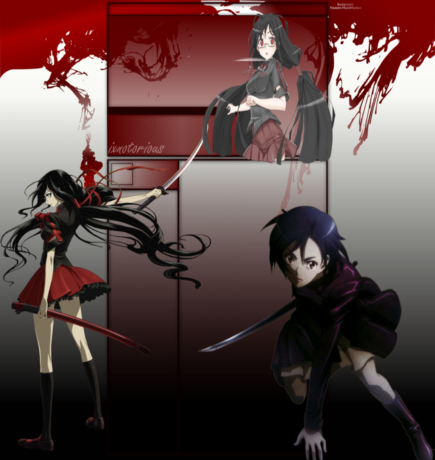 Blood C And Blood Plus Youtube Background Free By