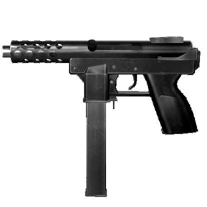 tec9 sub machine gun by jonasldg on DeviantArt