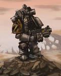 Iron warrior: Warhammer 40000