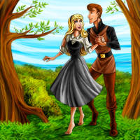 Couples: Aurora and Philip by DrMistyTang