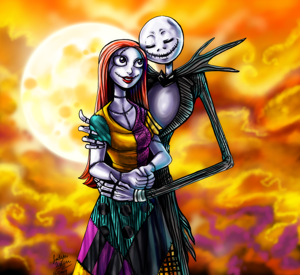 CC: Jack And Sally By MistyTang On DeviantArt
