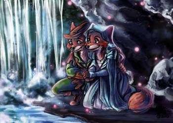 CC: Robin Hood and Maid Marian by DrMistyTang