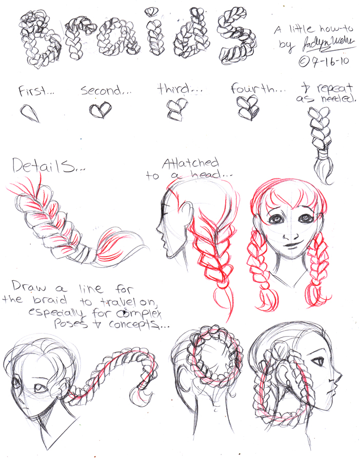 Braids by MistyTang