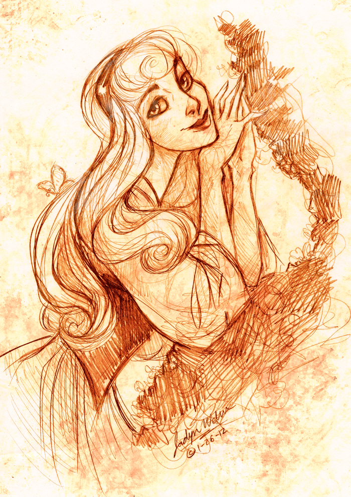 Briar Rose by DrMistyTang