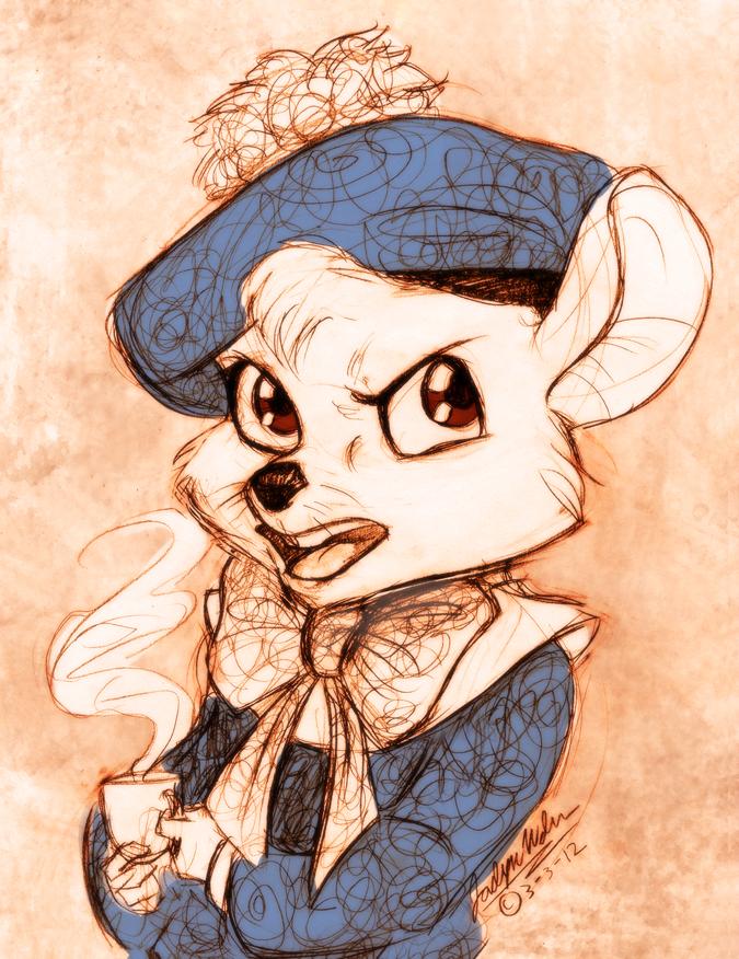 Miss Flangerhanger by MistyTang