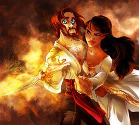 CC: Dastan and Tamina by DrMistyTang