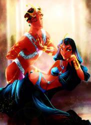 CC: Gahan and Tara by DrMistyTang