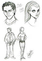 First C+T Sketches by DrMistyTang